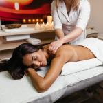 Swedish back massage