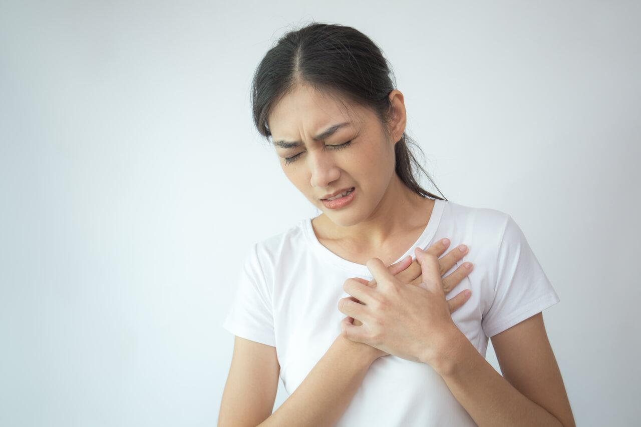 chest pain and headache