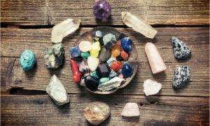 different types of healing crystals